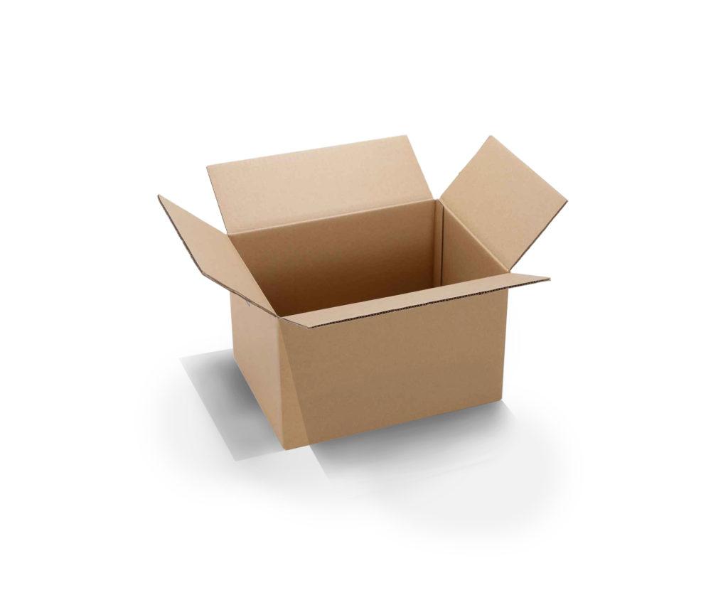 caisse carton ondulé simple cannelure