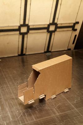 distributeur carton ondulé