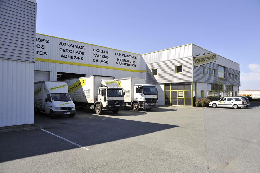 histoire de Boucard entreprise entrepôt
