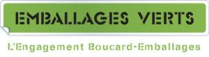Logo engagement vert Boucard embalages