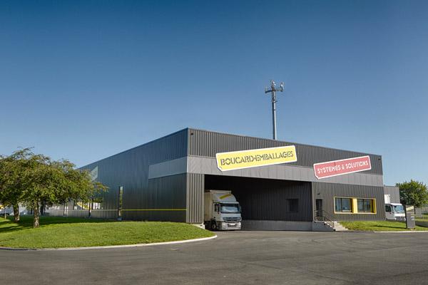 site logistique Boucard emballages