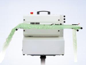 Machine à gonflage pour calage boucard emballages