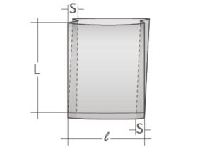 schéma sac soufflés latéraux