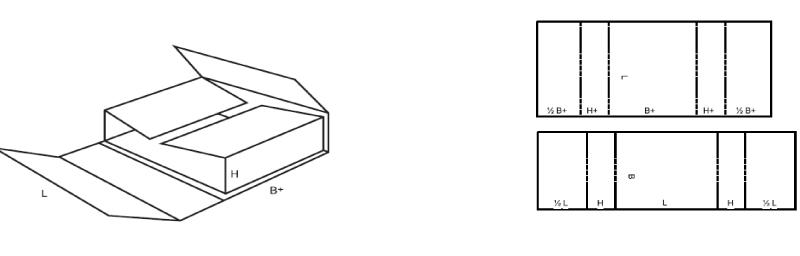 boite carton plié