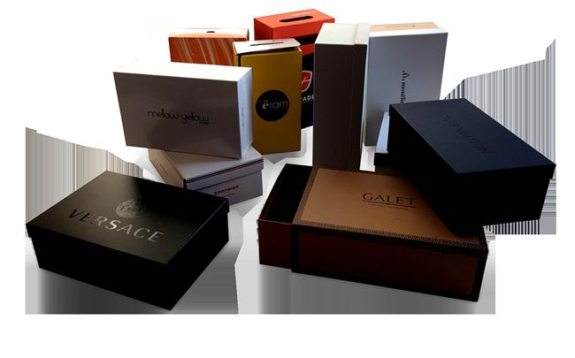 toutes les boîtes à cahussures chez Boucard Emballages
