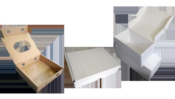 boites carton avec couvercle intégré Boucard Emballage