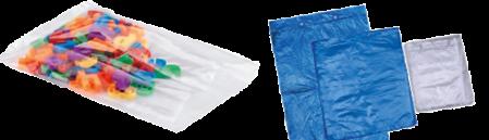 diverses applications sacs plastiques