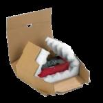boite postale avec calage mousse