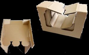 cales en cartons ondulé