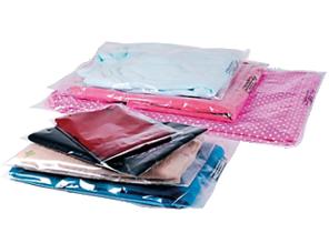 différents formats sacs à bande ahésive