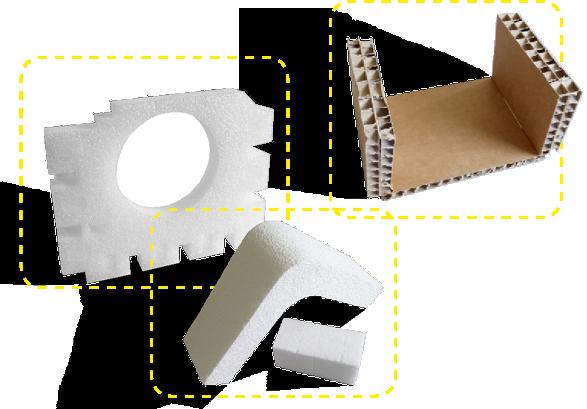 produits de calage Boucard emballages