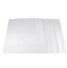 papier blanc frictionné