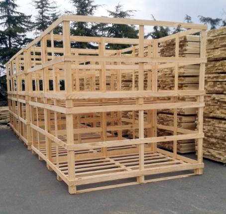 caisse bois claire-voie