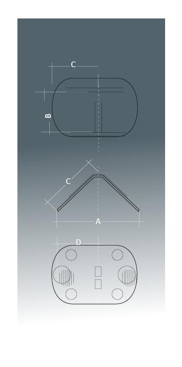 dimensions des renforts pour parafeuillards