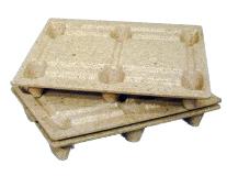 palettes bois moulé emboitables