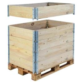 réhausse bois logistique