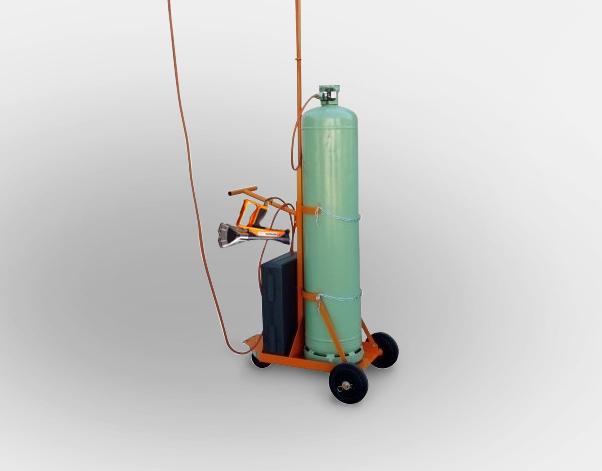 chariot porte-bouteille pour bouteille de gaz de 33Kg zoom