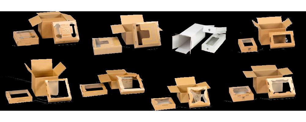 8 exemples de boites à suspension carton