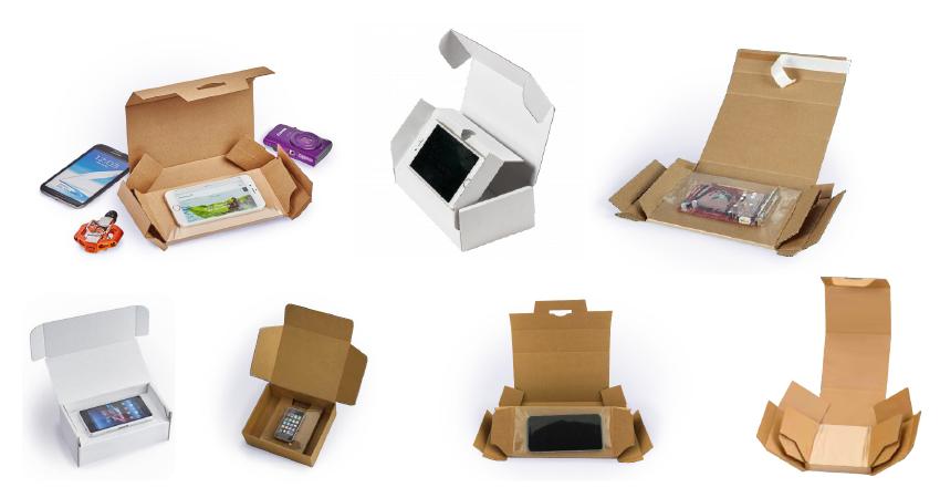 7exemples de boites à suspension en carton