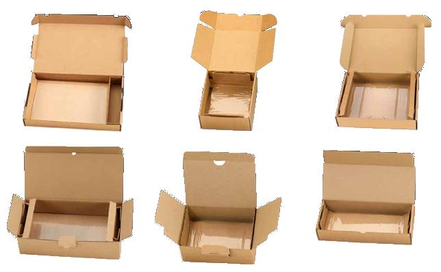 exemples de boite à calage à rétention carton