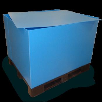 plaque ondulé plastique pour couverture palette