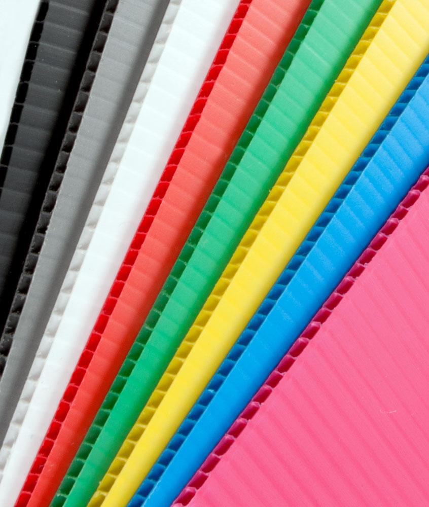 couleur des plaque plastique ondulé