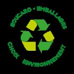 logo boucard emballage choix environnement